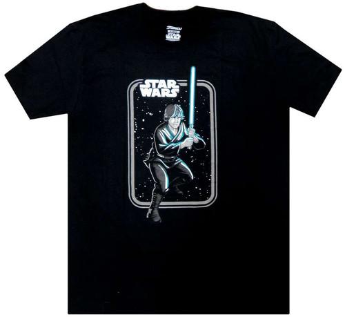 Funko Star Wars Luke Skywalker Exclusive T-Shirt [X-Large, Jedi Box]