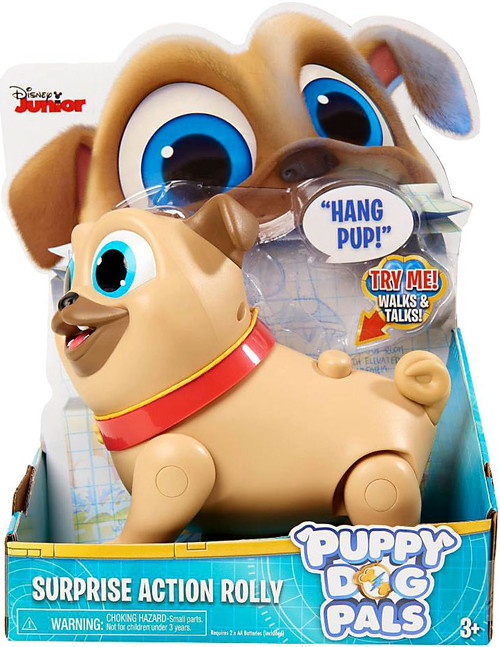 Disney Junior Puppy Dog Pals Rolly Surprise Action Figure