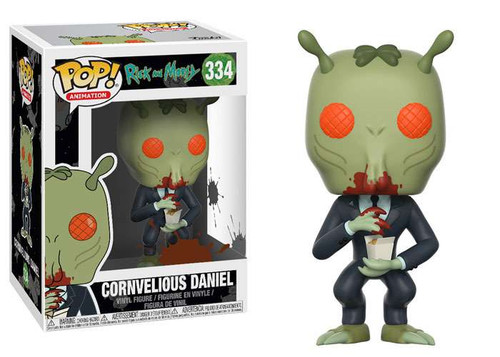Funko Rick & Morty POP! Animation Cornvelious Daniel Vinyl Figure #334 [with Sauce]