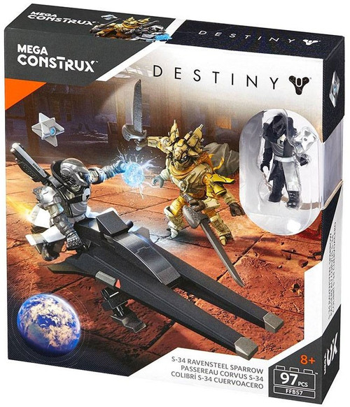 Destiny S-34 Ravensteel Sparrow Set