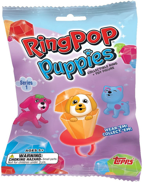 Ring Pop Puppies Topps Series 1 Mystery Pack