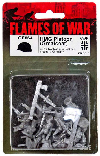 Flames of War HMG Platoon Miniatures GE864 [with 2 Machine-Gun Sections Infanterie Company]