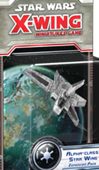 Star Wars X-Wing Miniatures Game Alpha-Class Star Wing Expansion Pack