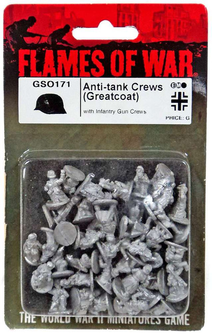 Flames of War Anti-Tank Crews (Greatcoat) Miniatures GSO171 [with Infantry Gun Crews]