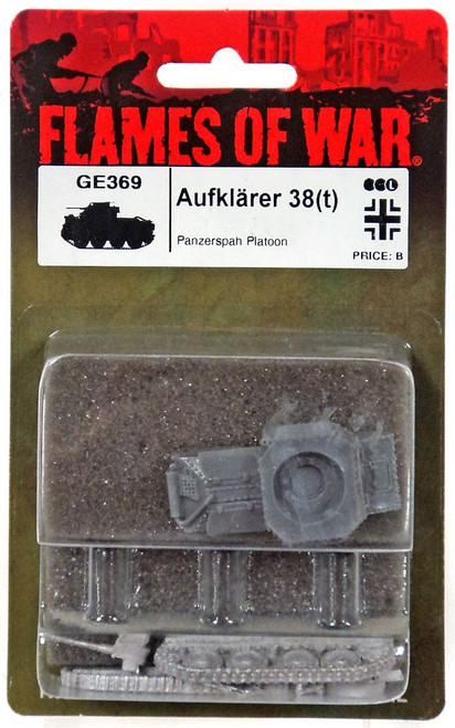 Flames of War Aufklarer 38 (t) Miniatures GE369 [Panzerspah Platoon]