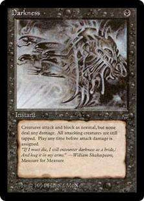 MtG Legends Common Darkness [Played]