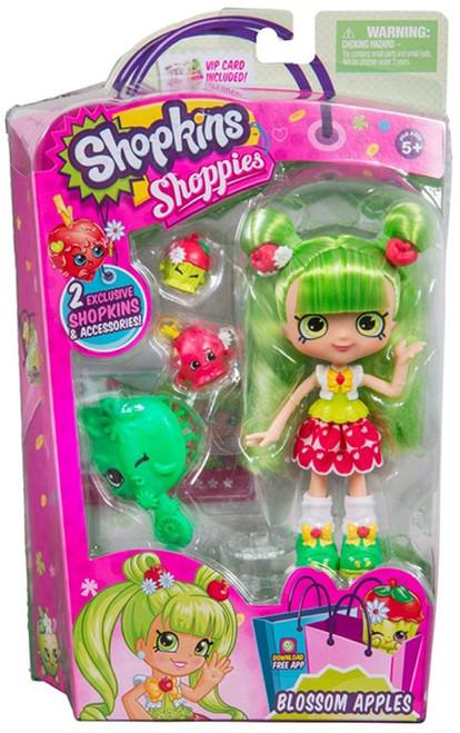Shopkins Shoppies Season 8 World Vacation Blossom Apples Doll Figure