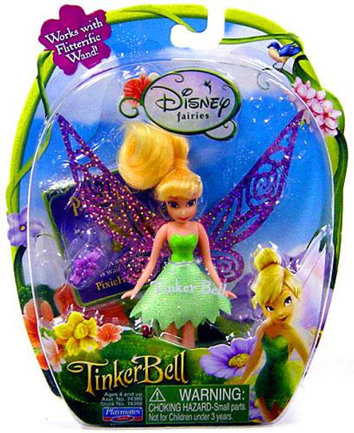 Disney Fairies Tinker Bell & The Lost Treasure Tinker Bell 3.5-Inch Figure [Blue Card, Damaged Package]