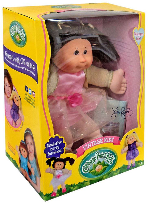 Cabbage Patch Kids Vintage Kids Brunette Doll