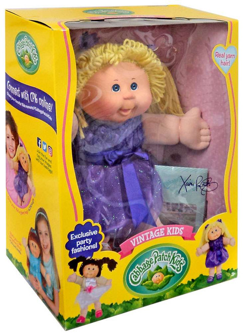 Cabbage Patch Kids Vintage Kids Blonde Doll