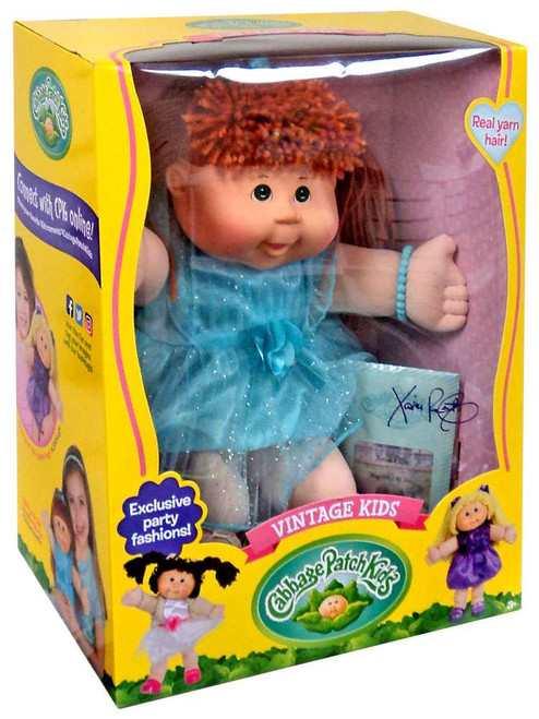 Cabbage Patch Kids Vintage Kids Red Doll