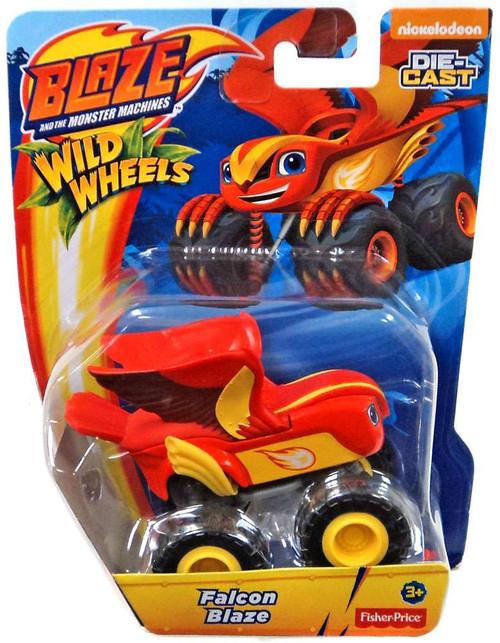 Fisher Price Blaze & the Monster Machines Nickelodeon Wild Wheels Falcon Blaze Diecast Car