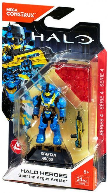 Halo Heroes Series 4 Spartan Argus Arestor Mini Figure