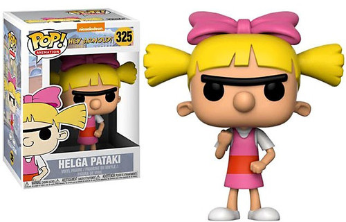 Funko Nickelodeon Hey Arnold POP! TV Helga Pataki Vinyl Figure #325