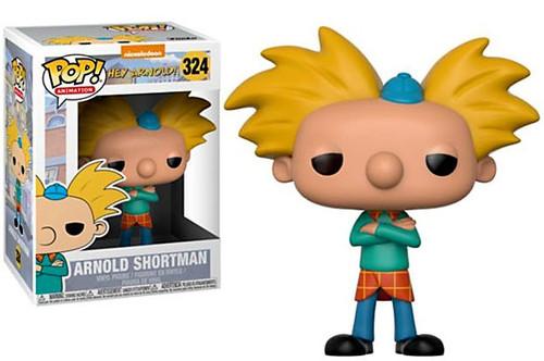Funko Nickelodeon Hey Arnold POP! TV Arnold Shortman Vinyl Figure #324