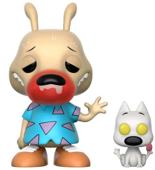 Funko Nickelodeon Rocko's Modern Life POP! TV Rocko & Spunky Vinyl Figure [Runny Nose, Chase Version]