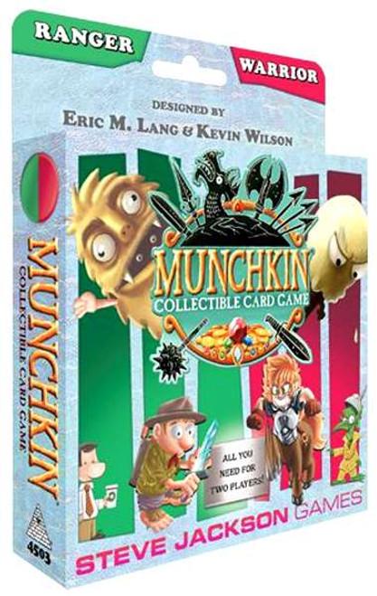 Munchkin Ranger & Warrior Collectible Card Game Starter Set