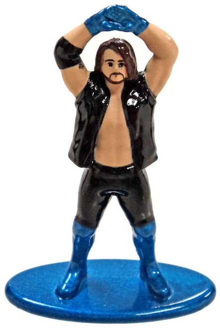 WWE Wrestling Nano Metalfigs AJ Styles 1.5-Inch Diecast Figure [Loose (No Package)]