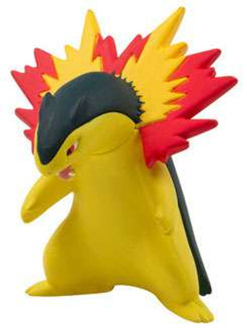 Pokemon Evolution Typhlosion 3-Inch Figure [Loose (No Package)]