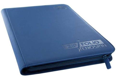 Ultimate Guard Xenoskin 9-Pocket Zipfolio [Blue]