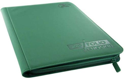 Ultimate Guard Xenoskin 9-Pocket Zipfolio [Green]