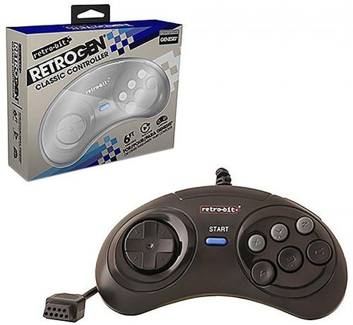Retro-Bit RetroGEN Classic Controller [for Genesis] (Pre-Order ships January)