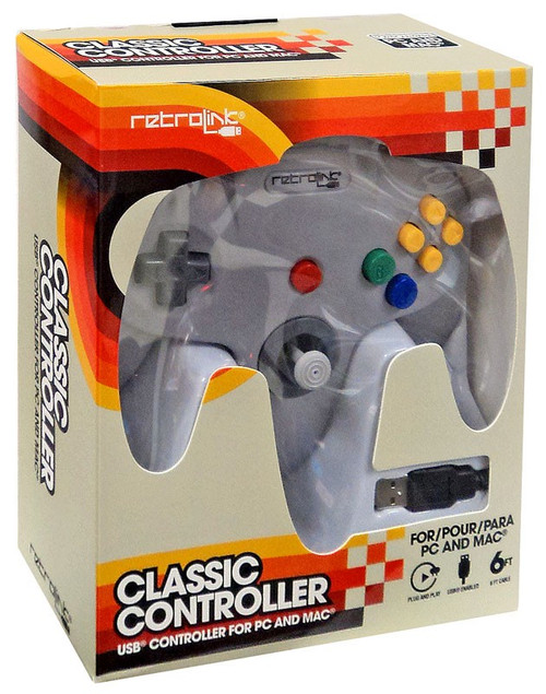 Retrolink USB N64 Classic Video Game Controller