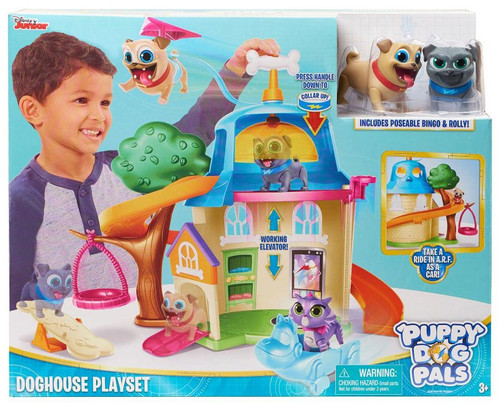 Disney Junior Puppy Dog Pals Doghouse Playset