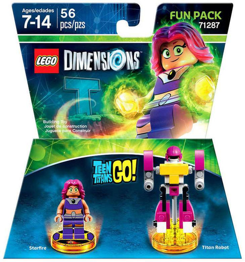 LEGO Dimensions Teen Titans Go! Starfire & Titan Robot Fun Pack #71287