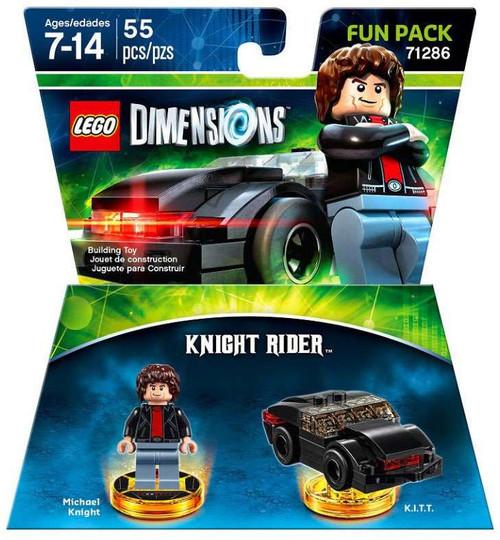 LEGO Dimensions Knight Rider Michael Knight & K.I.T.T. Fun Pack #71286