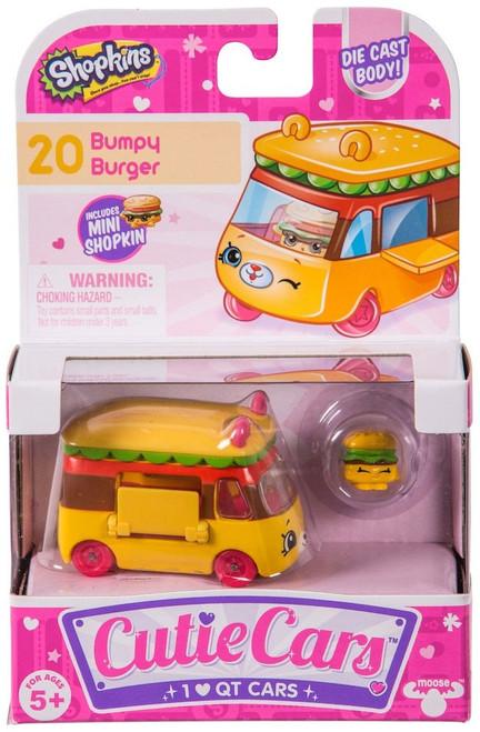 Shopkins Cutie Cars Bumpy Burger Figure Pack #20