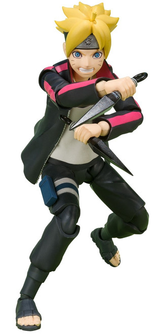 Naruto S.H. Figuarts Boruto Uzumaki Action Figure