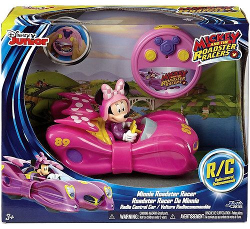 Disney Junior Mickey & Roadster Racers Minnie Roadster Racer Exclusive R/C Vehicle