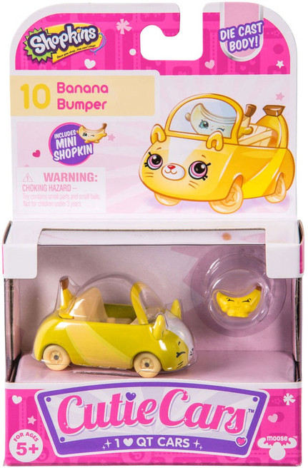 Shopkins Cutie Cars Banana Bumper Figure Pack #10