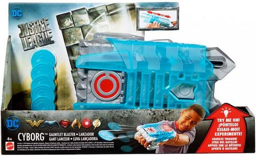 DC Justice League Movie Cyborg Gauntlet Blaster