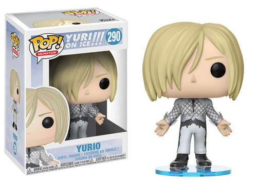 Funko Yuri on Ice POP! Animation Yurio Vinyl Figure #290