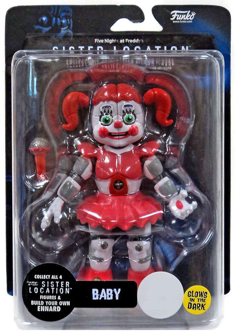 Funko Five Nights at Freddy's Sister Location Baby Exclusive Action Figure [Glow-in-the-Dark]
