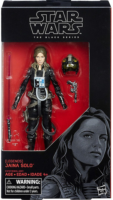 Star Wars Expanded Universe Black Series Wave 25 Jaina Solo Action Figure