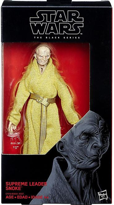 Star Wars The Last Jedi Black Series Wave 25 Supreme Leader Snoke Action Figure