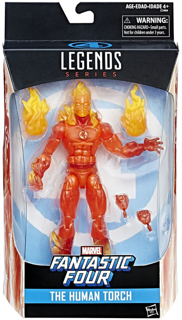 Fantastic Four Marvel Legends The Human Torch Exclusive Action Figure