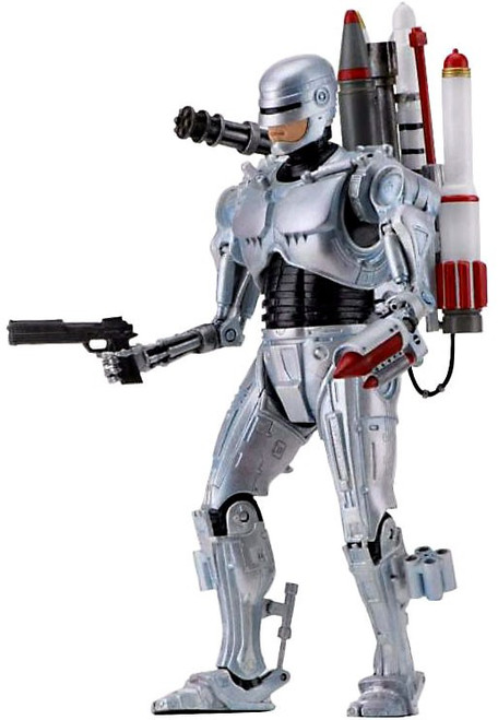 NECA RoboCop vs. The Terminator Future RoboCop Action Figure 2-Pack [Ultimate Version]