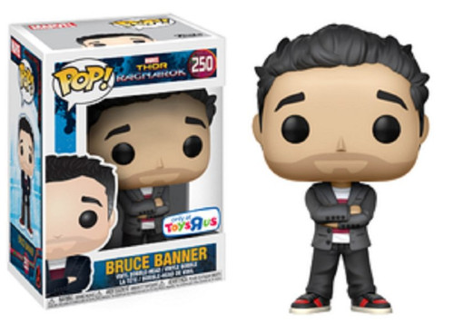 Funko Thor: Ragnarok POP! Marvel Bruce Banner Exclusive Vinyl Figure