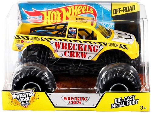 Hot Wheels Monster Jam 25 Wrecking Crew Diecast Car [Damaged Package]