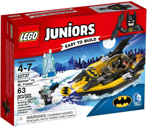 LEGO DC Juniors Batman vs Mr. Freeze Set #10737 [Damaged Package]