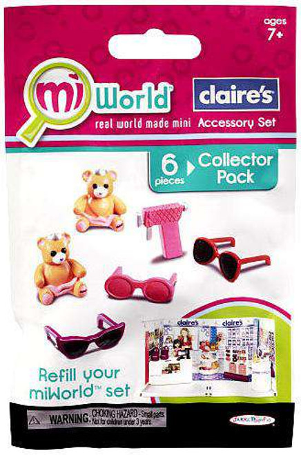 MiWorld Claire's Accessory Set Collector Pack [Sunglasses, Loose]