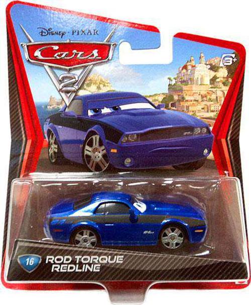 Disney / Pixar Cars Cars 2 Main Series Rod Torque Redline Diecast Car [Damaged Package]
