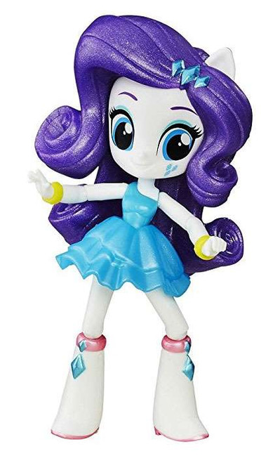 My Little Pony Equestria Girls Minis Rarity Figure 6-Pack [Loose, School Dance Collection]