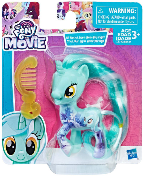 My Little Pony The Movie All About Lyra Heartstrings Mini Figure