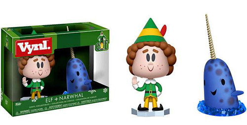 Funko Elf the Movie Vynl. Buddy & Narwhal Vinyl Figure 2-Pack