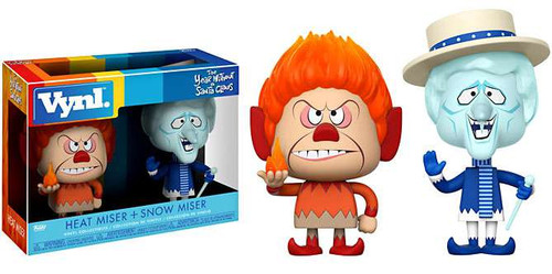 Funko Year Without Santa Claus Vynl. Heat Miser & Snow Miser Vinyl Figure 2-Pack